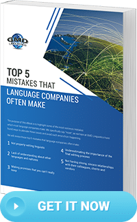 Download the Free eBook: Top 5 Mistakes That Language Companies Often Make